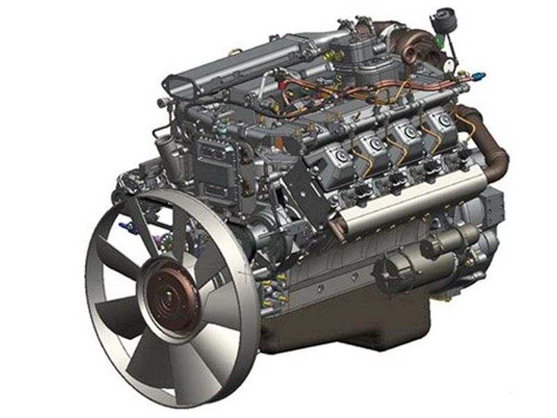 Двигатель КАМАЗ 740.73