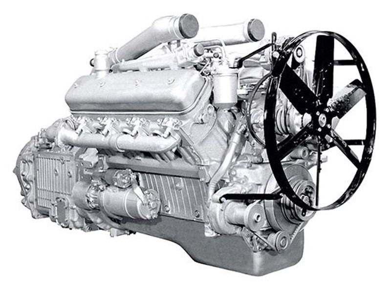 Двигатель ЯМЗ-238АМ2
