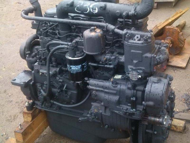 Двигатель Д-245Л-552
