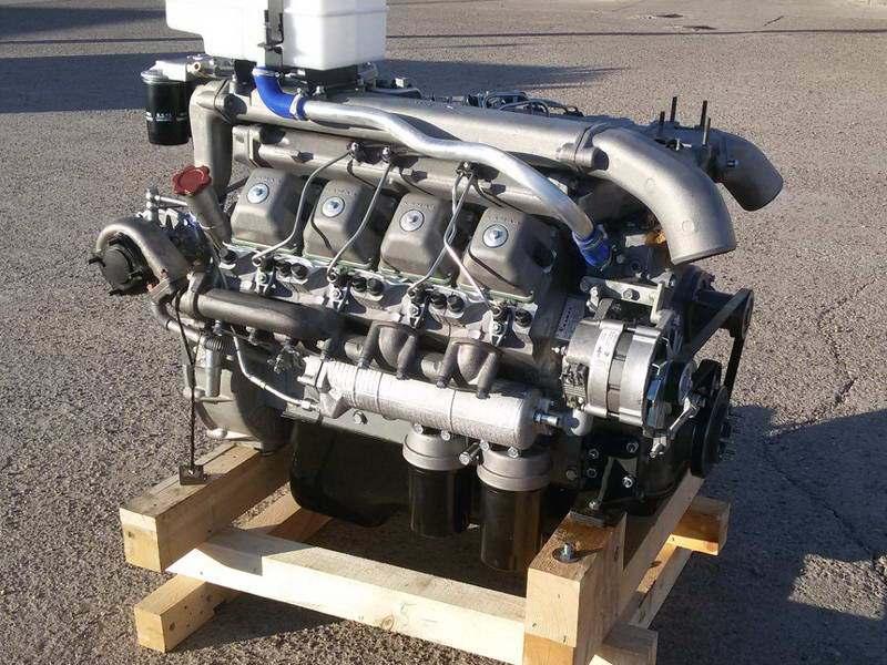 Двигатель 740.55