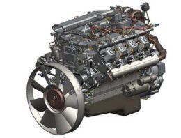 Двигатель 740.73