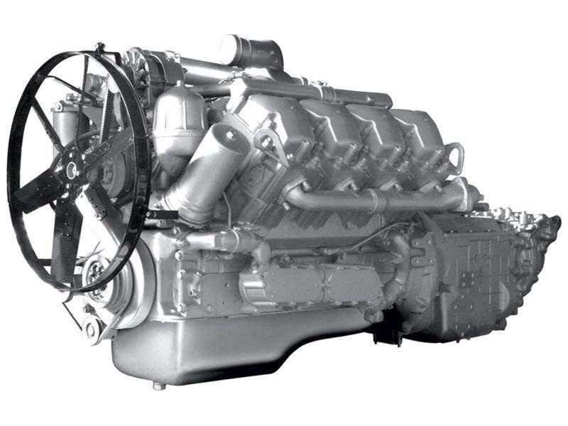 Двигатель ЯМЗ-7511.10