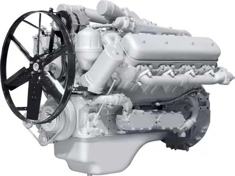 Двигатель ЯМЗ-7512.10