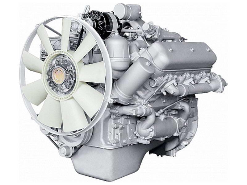Двигатель ЯМЗ-236БК